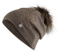 Mütze mit Pelzbommel 634/RF