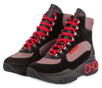 Boots INCA/F - SCHWARZ/ ROT/ WEISS