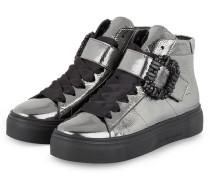 Plateau-Hightop-Sneaker BIG - GRAU