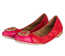 Ballerinas MINNIE - ROT/ PINK/ GOLD