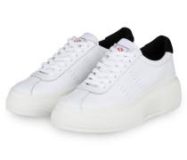 Plateau-Sneaker 2822 COMFLEAW - WEISS