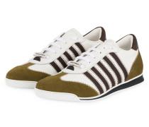 Sneaker NEW RUNNERS - WEISS/ KHAKI