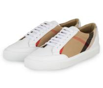 Sneaker - WEISS/ BEIGE/ ROT