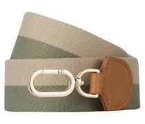 Schulterriemen DSTRAP - grün/ beige