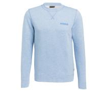 Sweatshirt BODO - hellblau meliert