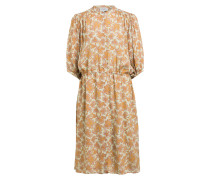 Kleid MULLE mit Seide und 3/4-Arm