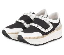 Plateau-Sneaker MIRKA - SCHWARZ/ WEISS