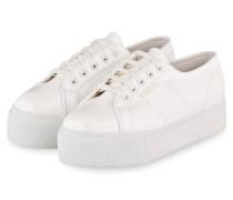 Plateau-Sneaker PUPATENTW - WEISS