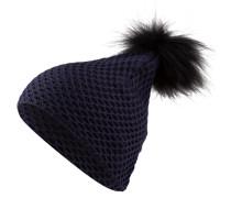 Mütze ABLIS mit Pelzbommel