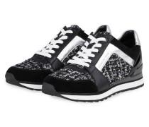 Plateau-Sneaker BILLIE - SCHWARZ/ SILBER