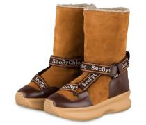 Boots CROSTA - MARRONE-TAN
