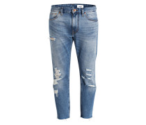 Destroyed-Jeans DINIUS CROPPED Tapered-Fit