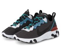 Sneaker REACT 55 SE - ANTHRAZIT/ BLAU