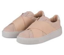 Slip-on-Sneaker PLATFORM X - HELLROSA