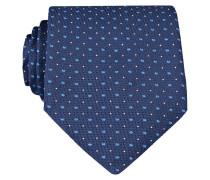 Krawatte - dunkelblau/ hellblau