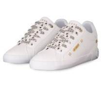Plateau-Sneaker PUXLY - WEISS/ GOLD