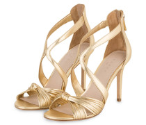 Sandaletten - GOLD METALLIC
