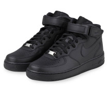 Hightop-Sneaker AIR FORCE 1 MID - SCHWARZ