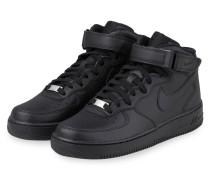 Hightop-Sneaker AIR FORCE 1 MID - SCHWARZ