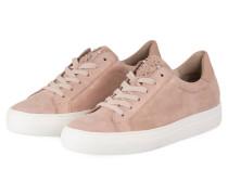 Sneaker mit Perlenbesatz - ROSA
