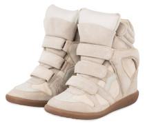 Sneaker-Wedges - ECRU