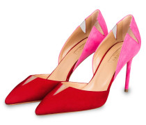 Pumps SHARP - ROT/ PINK