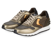 Sneaker JULIA POWER - KHAKI/ GOLD