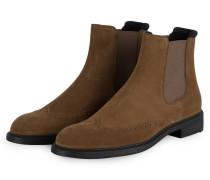 Chelsea-Boots FIRSTCLASS - HELLBRAUN