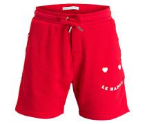 Shorts LE HAPPY - rot