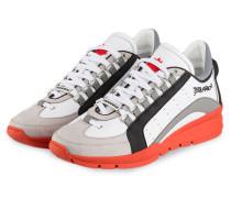 Sneaker 551 - weiss/ grau/ orange