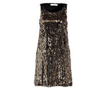 Paillettenkleid - gold/ schwarz