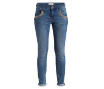 Jeans NAOMI SHINE - light blue denim