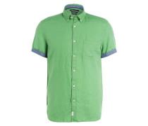 Halbarm-Leinenhemd Regular Fit