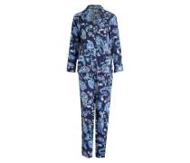Pyjama - blau/ hellblau/ grün