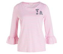 Shirt - rosa/ weiss gestreift
