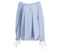 Pullover mit Blusensaum