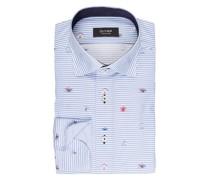 Hemd tailored fit - blau