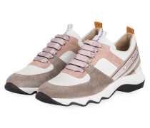Sneaker - WEISS/ ROSÉ/ TAUPE