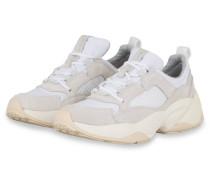 Plateau-Sneaker - WEISS/ HELLGRAU