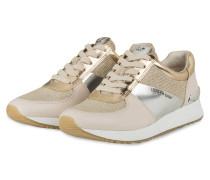 Sneaker ALLIE - WEISS/ GOLD/ SILBER