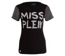 T-Shirt MISS PLEIN mit Schmucksteinbesatz