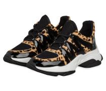 Plateau-Sneaker MAXIMUS - SCHWARZ/ BEIGE