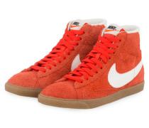 Hightop-Sneaker BLAZER MID SUEDE - ORANGE