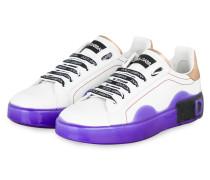 Sneaker PORTOFINO - WEISS/ LILA