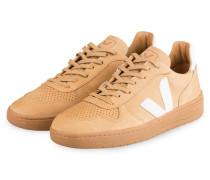 Sneaker V-10 BASTILLE - CAMEL