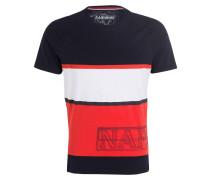 T-Shirt SAFI - navy/ rot/ offwhite