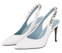 Slingpumps MILEY - WEISS