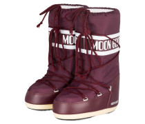 Moon Boots NYLON - BORDEAUX