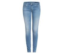 Jeans CURVE X mit Schmucksteinbesatz