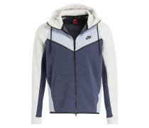 Hoodie TECH FLEECE WINDRUNNER - grau/ dlau